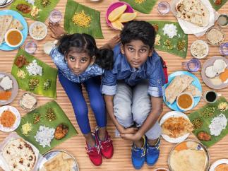 Mierra Sri Varrsha y Tharkish Sri Ganesh  (Malasia, 10 y 8 años)