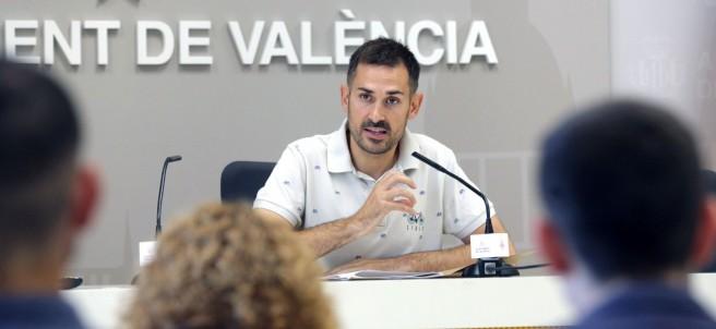 Sergi Campillo, vicealcalde de Valencia y consejero de Devesa-Albufera.
