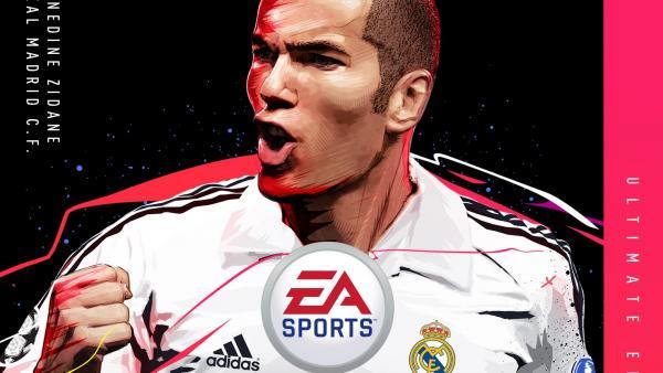 Zidane, portada de 'FIFA 20'