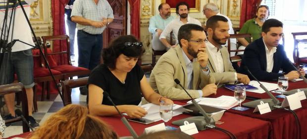 Carmen Álvarez, diputada provincial de IU en la Diputación de Cádiz
