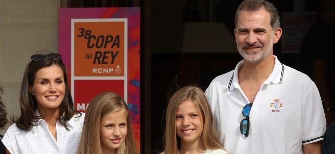 La familia real se reúne en Palma de Mallorca con motivo de la 38ª edición de la Copa del Rey de vela.