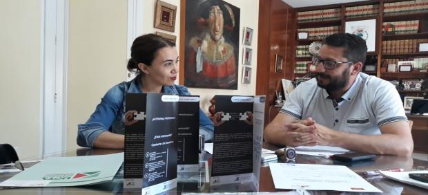 Firma del convenio de UPTA Andalucía con el Ayuntamiento de Trebujena