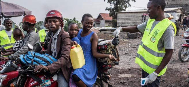 Protocolo contra el ébola en la ciudad de Goma (RDC)