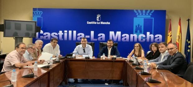 Reunión de constitución del Consejo de Administración de Geacam