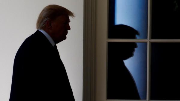 El presidente de EE UU, Donald Trump.