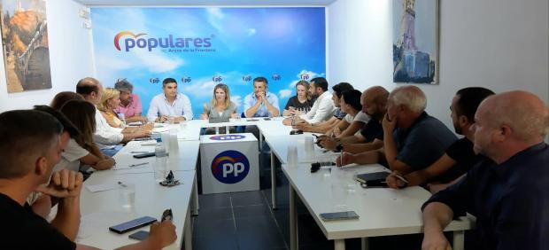 Reunión de la Ejecutiva Comarcal del PP en Arcos