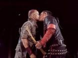 Richard Kruspe y Paul Landers, guitarristas de Rammstein, se besaron en el concierto de Moscú durante la canción 'Ausländer'