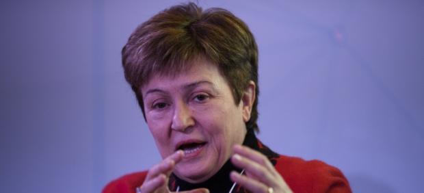 Kristalina Georgieva, directora ejecutiva del Banco Mundial y candidata a presidir el FMI.