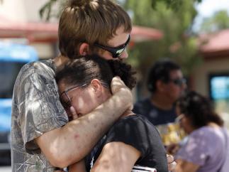 Supervivientes del tiroteo de Texas