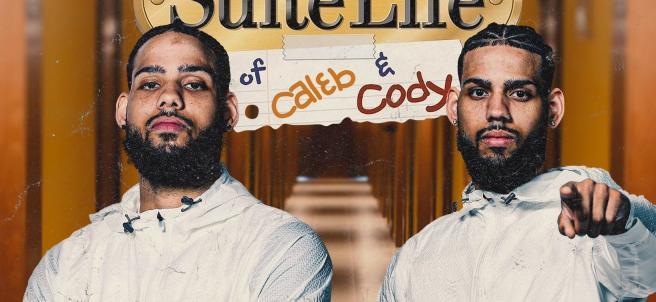 Cody y Caleb Martin, jugadores de los Charlotte Hornets