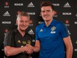 Harry Maguire, fichaje por el Manchster United, con Solskjaer