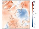 Aumento de la temperatura en julio de 2019