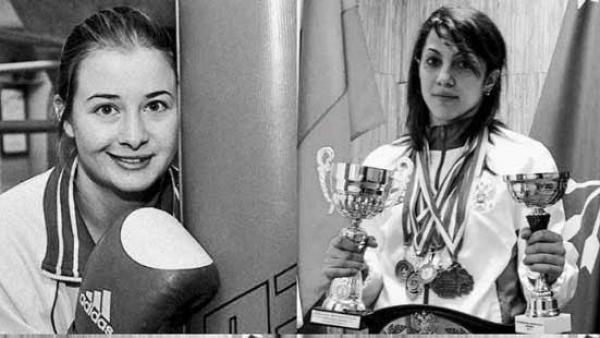 Fatima Zhagúpova y Elina Guisméyeva