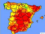 Riesgo extremo de incendios en España