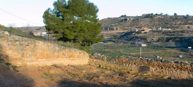Fosa de la Guerra Civil en El Soleràs (Lleida).