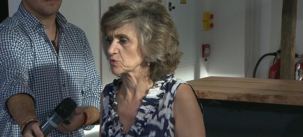 La ministra en funciones María Luisa Carcedo