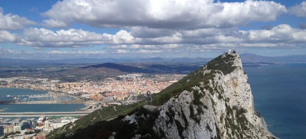 Vista del peñón de Gibraltar, en una imagen de archivo.