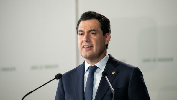 El presidente de la Junta, Juanma Moreno, en una imagen de archivo