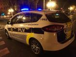 Un coche de la Policía Local de València en imagen de archivo