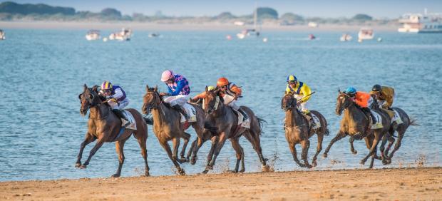 Carrera de caballos de Sanlúcar