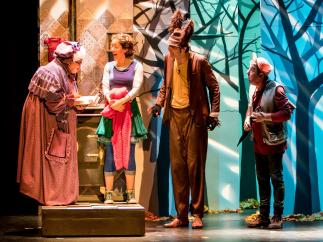 Imagen del montaje de Teloncillo Teatro