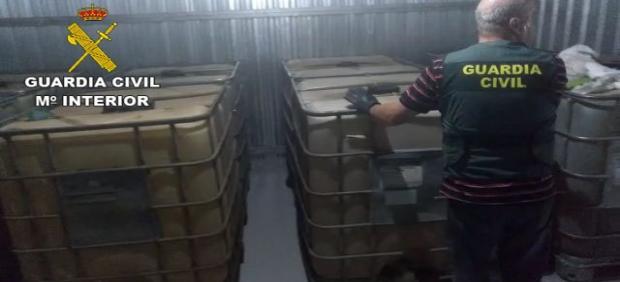 Robo de hidrocarburos en Puertollano