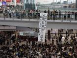 Protestas aeropuerto Hong Kong