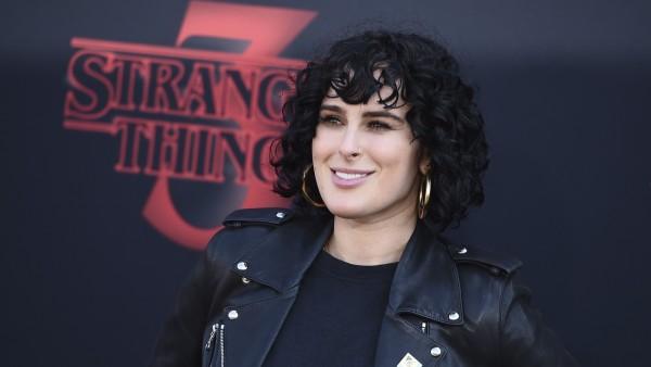 Rumer Willis, hija de Bruce Willis y Demi Moore, en el estreno de la tercera temporada de 'Stranger Things'
