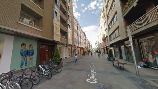 Calle Fueros en Vitoria