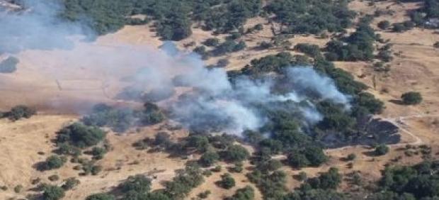 Conato de incendio en la Sierra de Grazalema