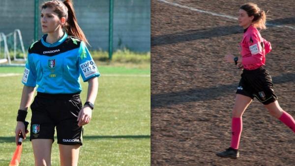 Annalisa Moccia y Giulia Nicastro, arbitras invitadas a la Supercopa de Europa
