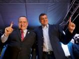 El conservador Alejandro Giammattei se autoproclama presidente de Guatemala