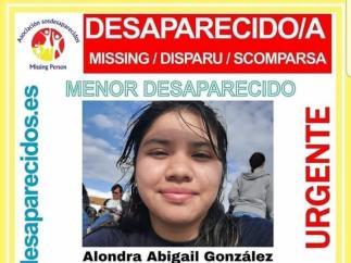 Menor de Lalín  desaparecida en Santiago de Compostela