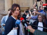 La Candidata socialista al Gobierno de La Rioja, Concha Andreu.