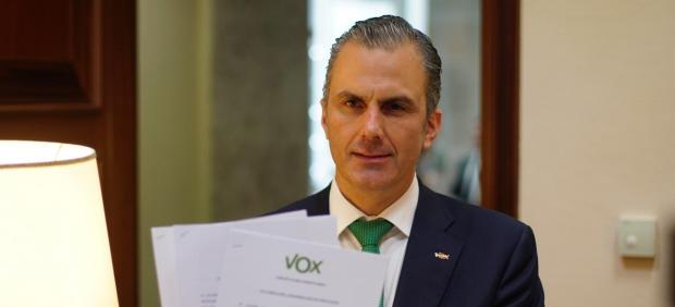 El secretario general de Vox, Javier Ortega Smith.