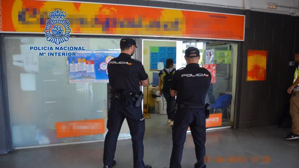 Operativo policial en Tarragona