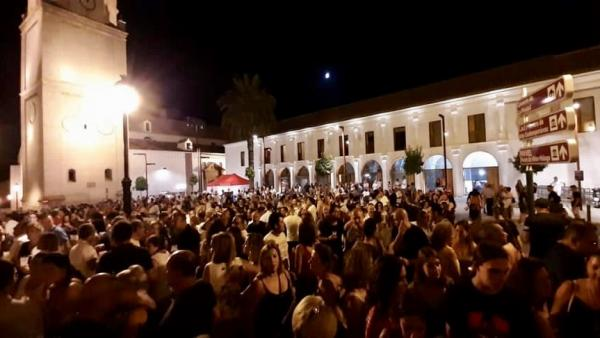 Noches en Blanco de Vélez-Málaga con múltiples espectadores