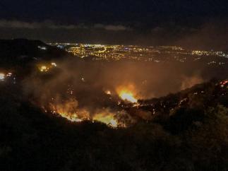 Nuevo fuego en Gran Canaria
