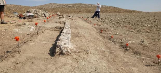 Excavaciones arqueológicas de Caraca en Driebes (Guadalajara)