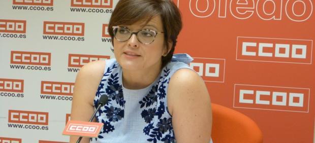 Carolina Vidal. CCOO