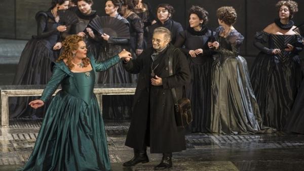 Plácido Domingo En El 'Don Carlo' De Giuseppe Verdi En El Palau De Les Arts En 2017