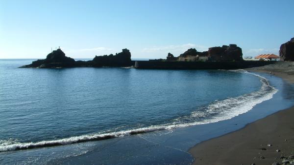 Playa en La Gomera