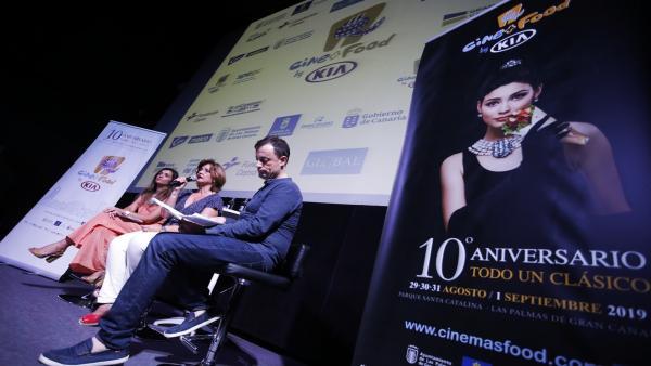 Presentación de la décima edición de Cine+Food