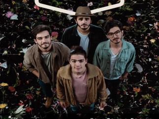 Cartel anunciador de Morat en su concierto de Baeza