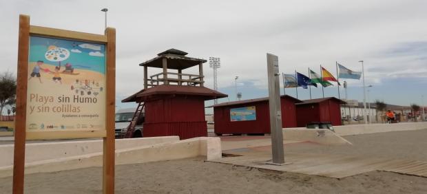 Playa de Santa Bárbara de La Línea (Cádiz)