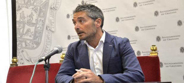 El concejal de Empleo y Emprendimiento de Granada, Manuel Olivares