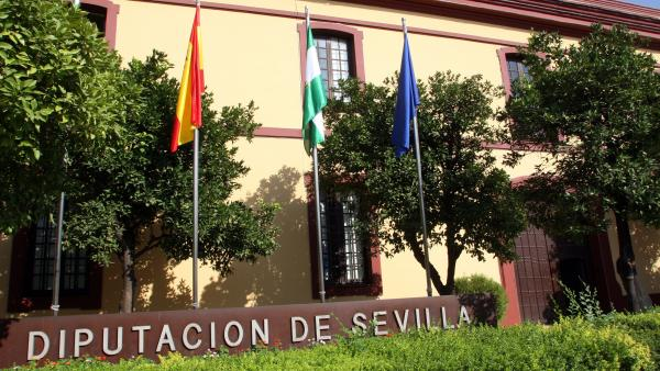 Fachada de la Diputación de Sevilla
