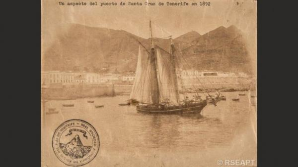 Imagen de Santa Cruz del fondo de la Real Sociedad Económica de Amigos del País
