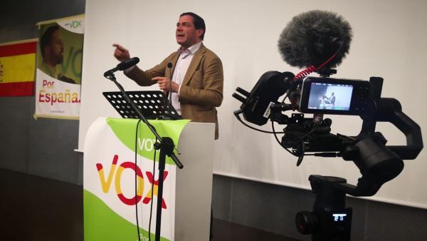 El diputado de Vox en el Congreso por Zaragoza, Pedro Fernández.