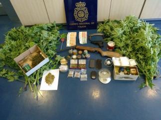 Sustancias Incautadas Por La Policía Nacional De Astorga.
